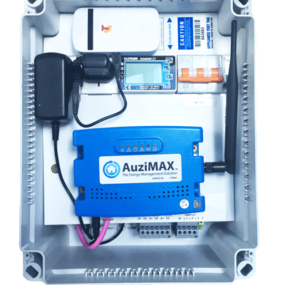AuziMAX EMS with 4G modem - inside view